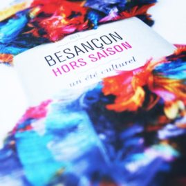 conception du visuel et de la maquette dans le cadre de la plaquette culturelle d'été de la ville de Besançon