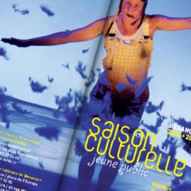 Saison culturelle, jeune public Ville de Besançon spectacles, théâtre, marionettes plaquette