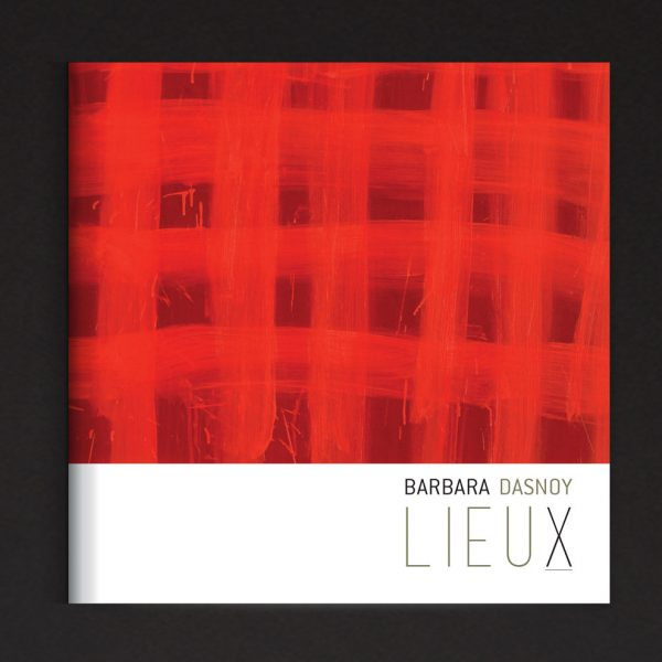 Couverture du catalogue d'exposition de Barbara Dasnoy