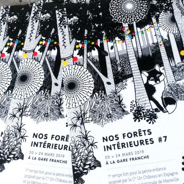 Nos forêts intérieures#7 flyer